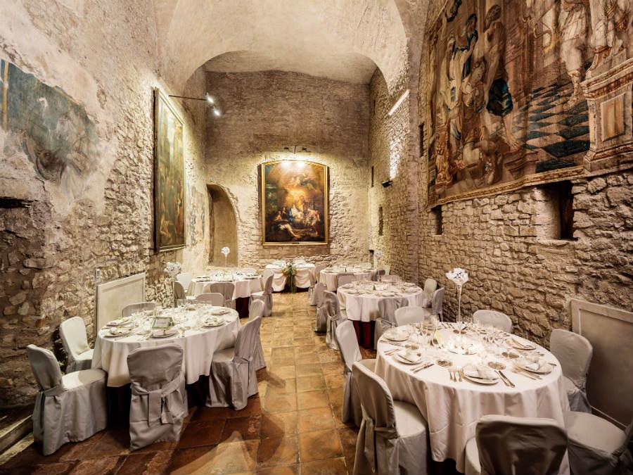 Castello Orsini di Nerola - Ristorante Gli Affreschi (ex Cappella degli Orsini)