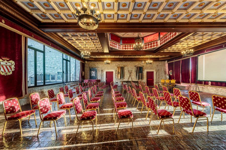 Castello Orsini di Nerola - Salone delle Feste