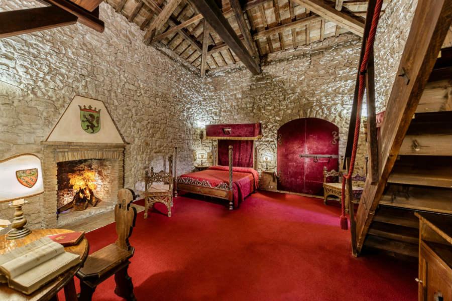 Castello Orsini di Nerola - Royal suite - Alloggio del Capitano