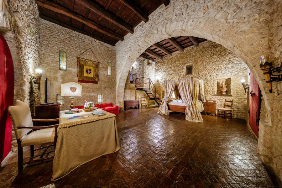 Castello Orsini di Nerola - Royal suite - Stanza del Principe