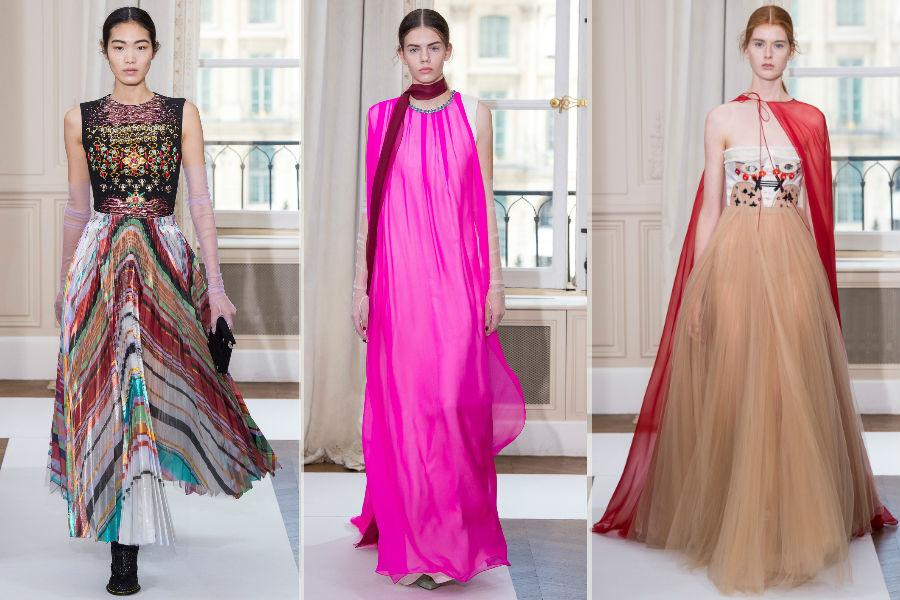 Maison Schiapparelli - immagini di sfilata Haute Couture F/W 2017-2018