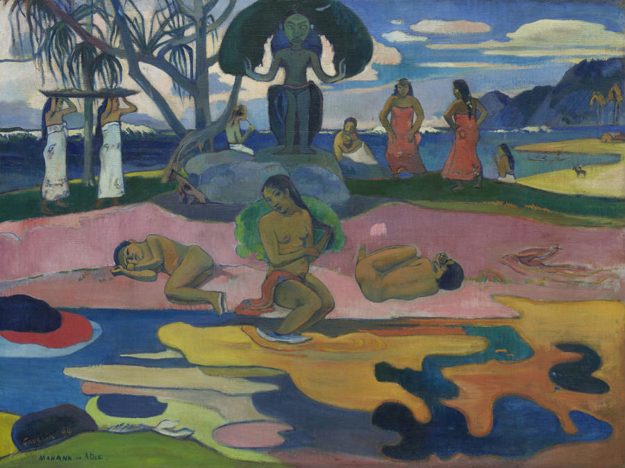 Gauguin l'alchimiste - Paul Gauguin (1848-1903) Mahana no atua (Le jour de Dieu) 1894