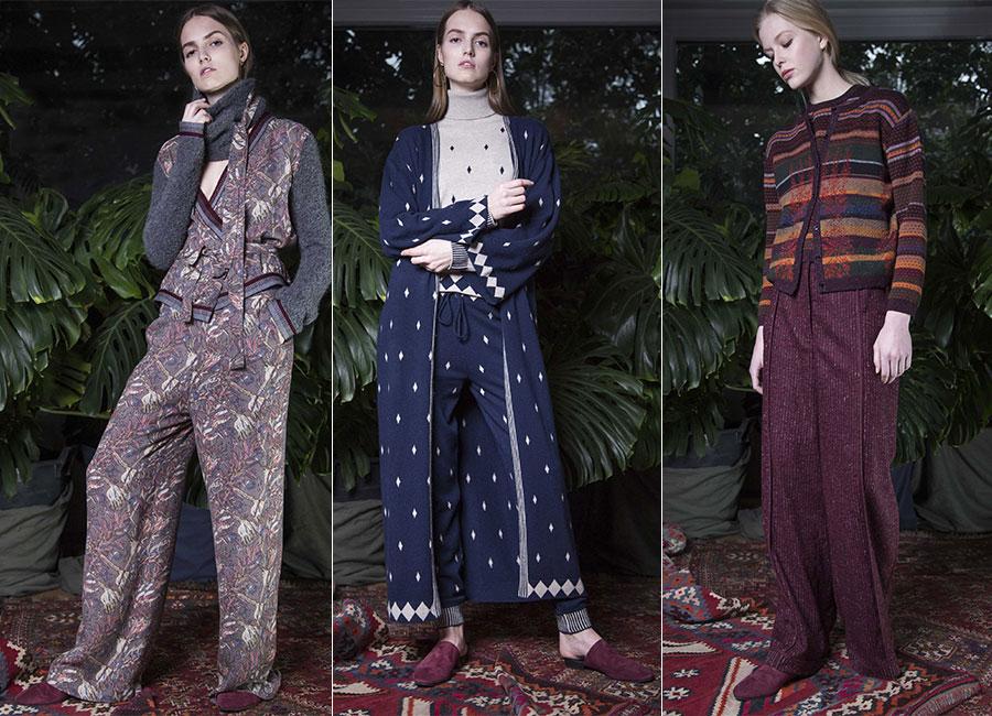 Maglieria - modelle indossano creazioni Ballantyne