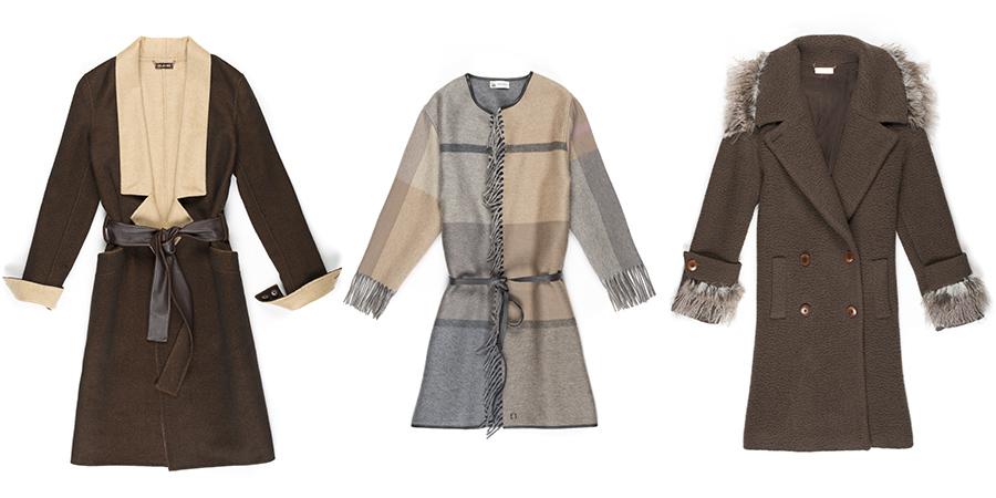 Maglieria - modelle indossano creazioni Lanificio Luigi Colombo