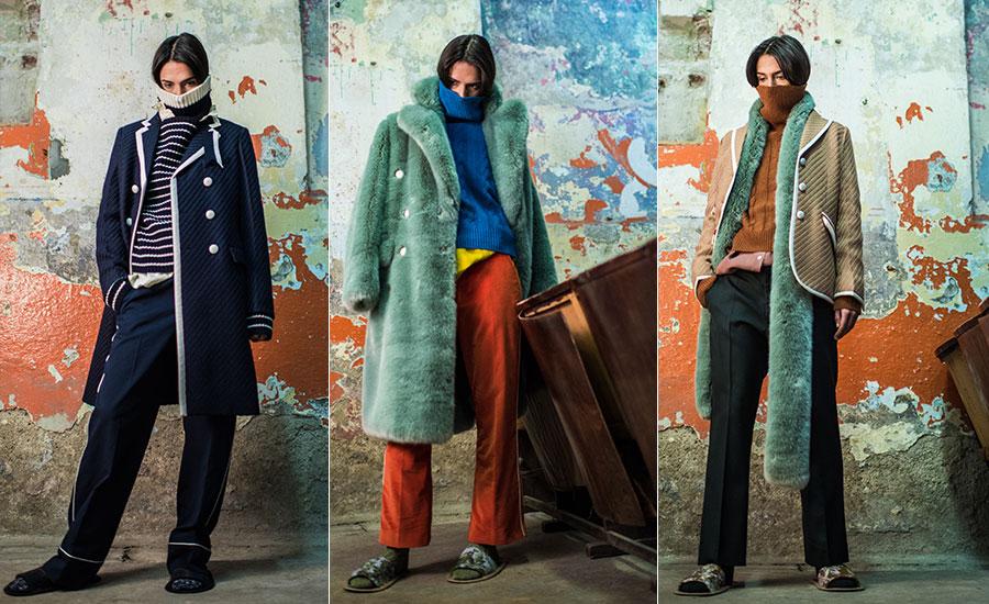 Maglieria - modelle indossano creazioni The Gigi
