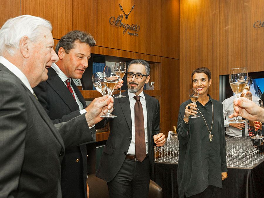 Brindisi tra Maison Breguet e l'azienda vitivinicola Marchesi Malaspina
