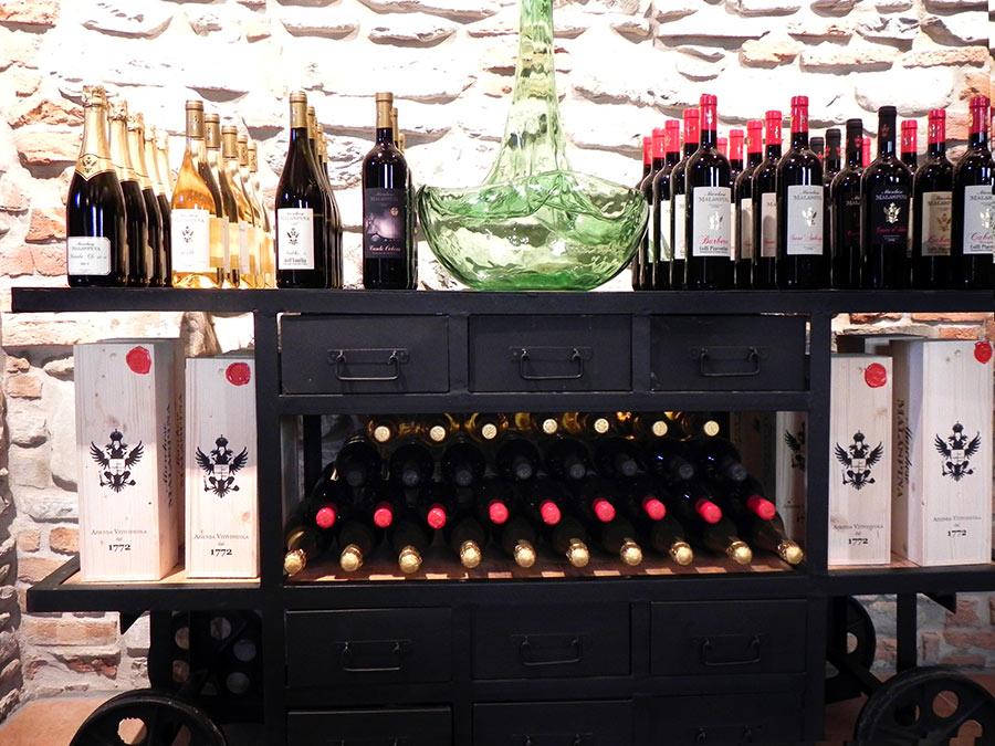 Prodotti dell'azienda vitivinicola Marchesi Malaspina