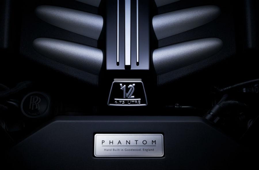 Propulsore V12 della Rolls-Royce Phantom
