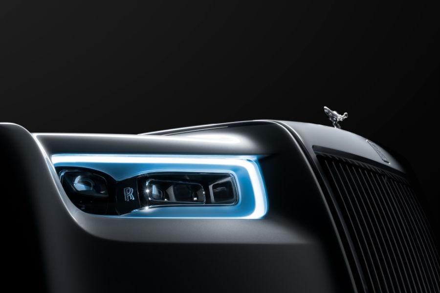 Rolls-Royce Phantom - fari a tecnologia laser