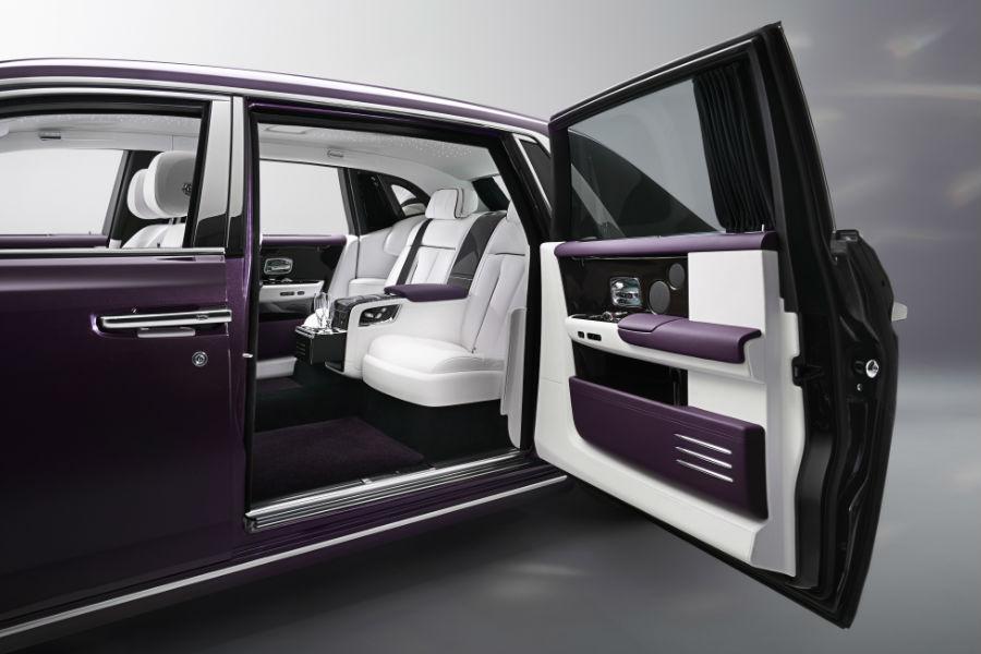 Rolls-Royce Phantom - Porta posteriore