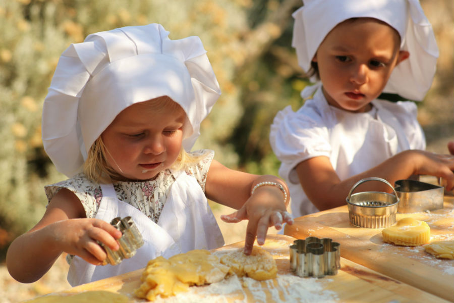 Rosewood Castiglion del Bosco - Kids Cooking Lesson