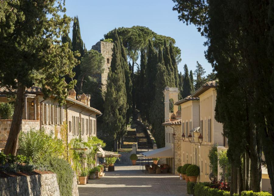 Rosewood Castiglion del Bosco - Il Borgo avenue