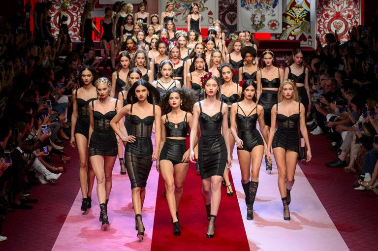 Seduzione - Dolce&Gabbana sfilata ss2018
