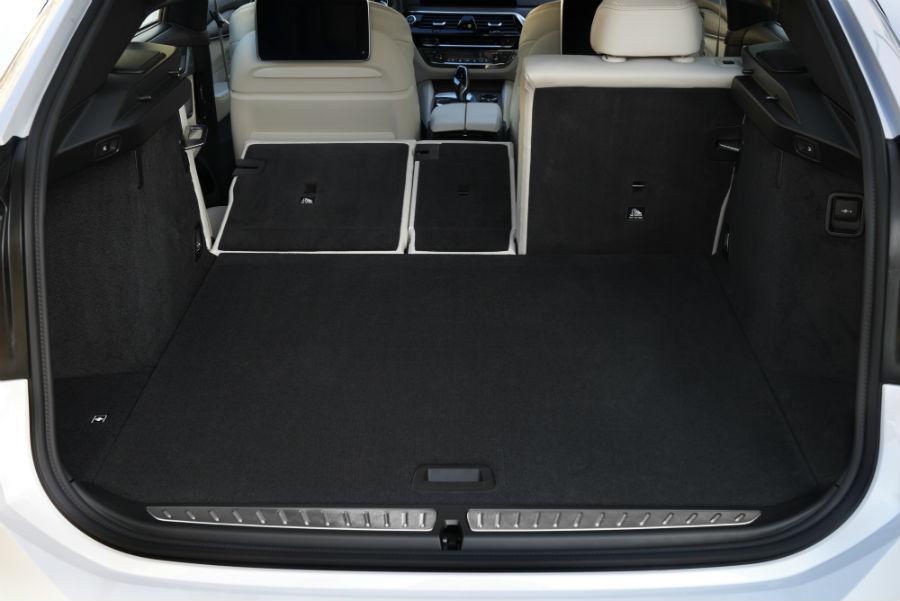 BMW Serie 6 Gran Turismo - bagagliaio