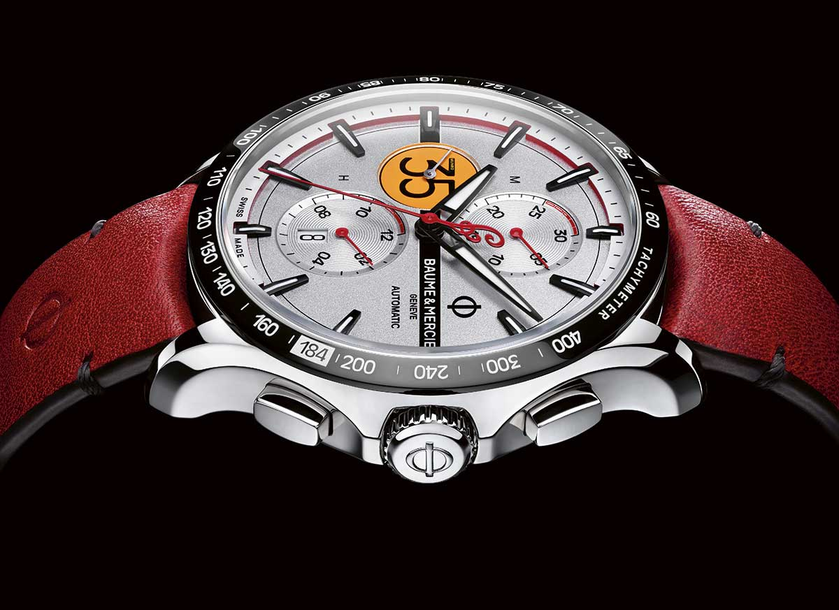 Baume & Mercier – Clifton Club Burt Munro Tribute Limited Edition