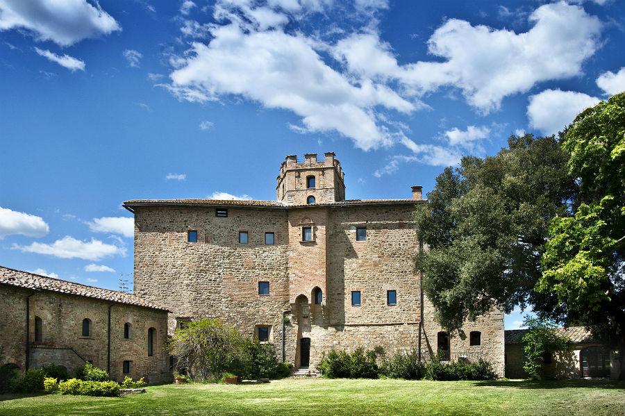 Castel Porrona Relais & Spa - vista dell'ingresso
