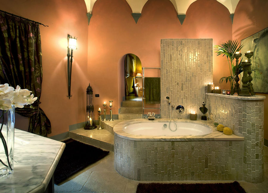 Castel Porrona Relais & Spa - Castle - Bathroom