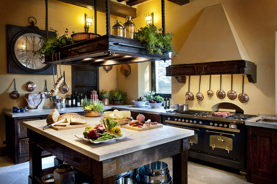 Castel Porrona Relais & Spa - Castle Kitchen