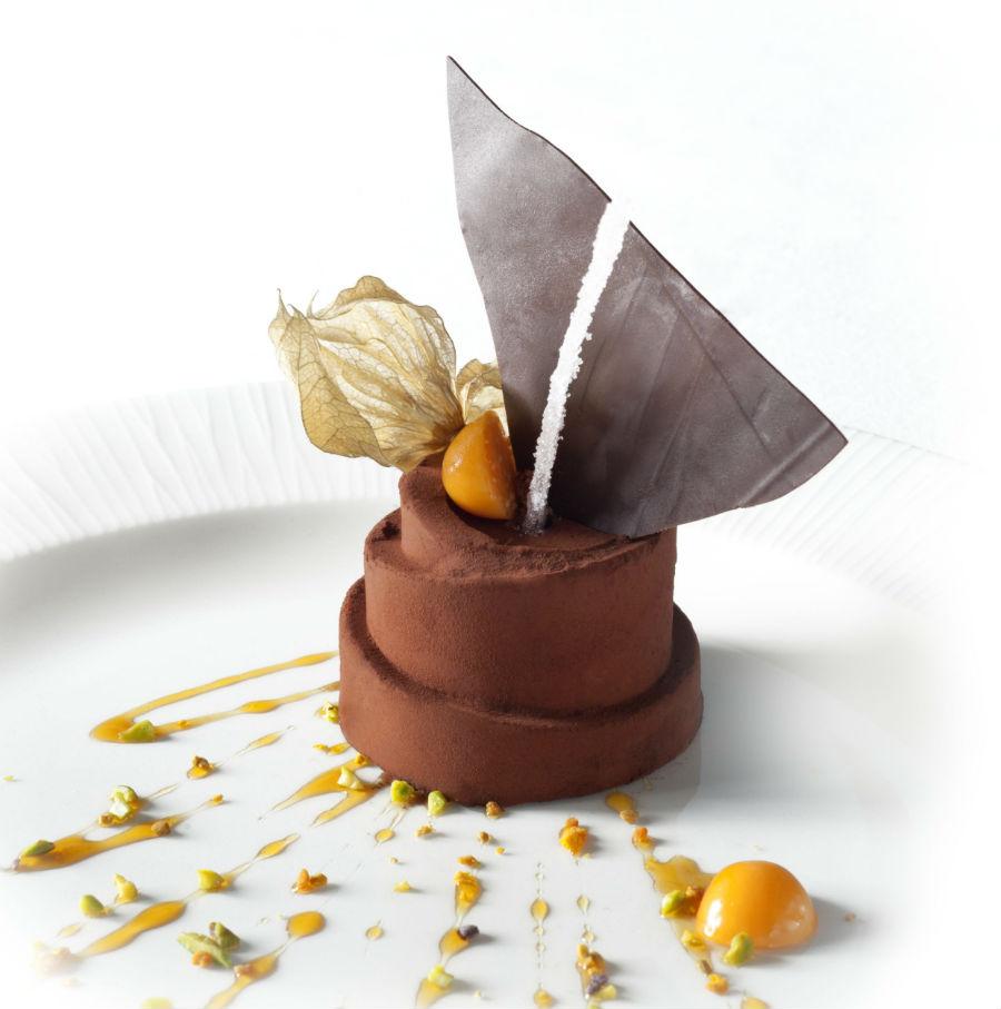 Castel Porrona Relais & Spa - Il Chiostro restaurant – selezione di piatti preparati