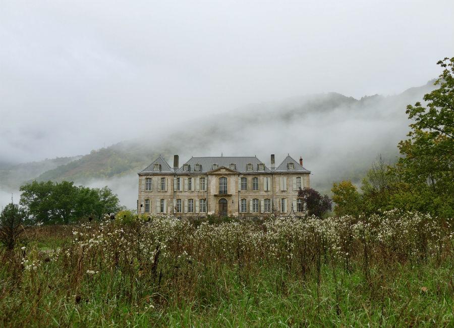 Château de Gudanes - veduta esterna