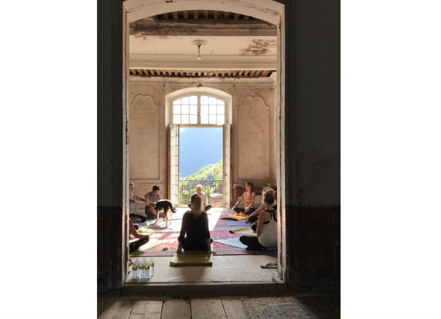 Château de Gudanes - Lezioni di yoga
