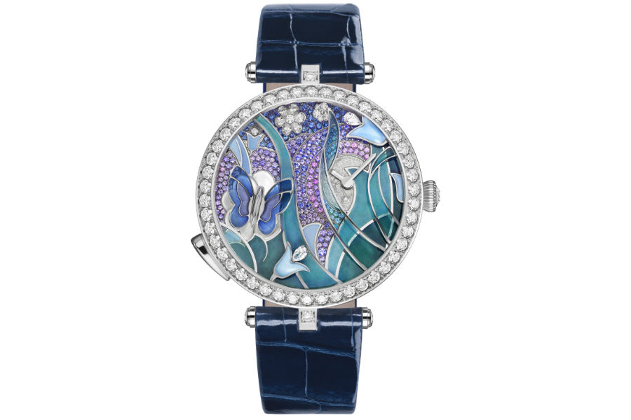 GPHG 2017 - Ladies' High-Mech Watch: Van Cleef & Arpels Lady Arpels Papillon Automate