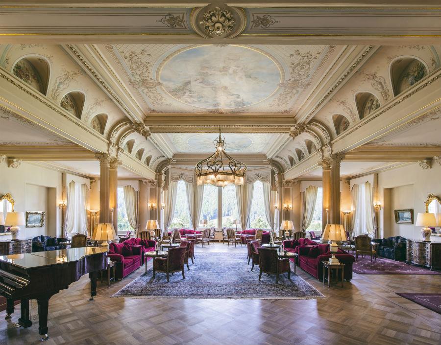 Gran Hotel Kronenhof - lobby