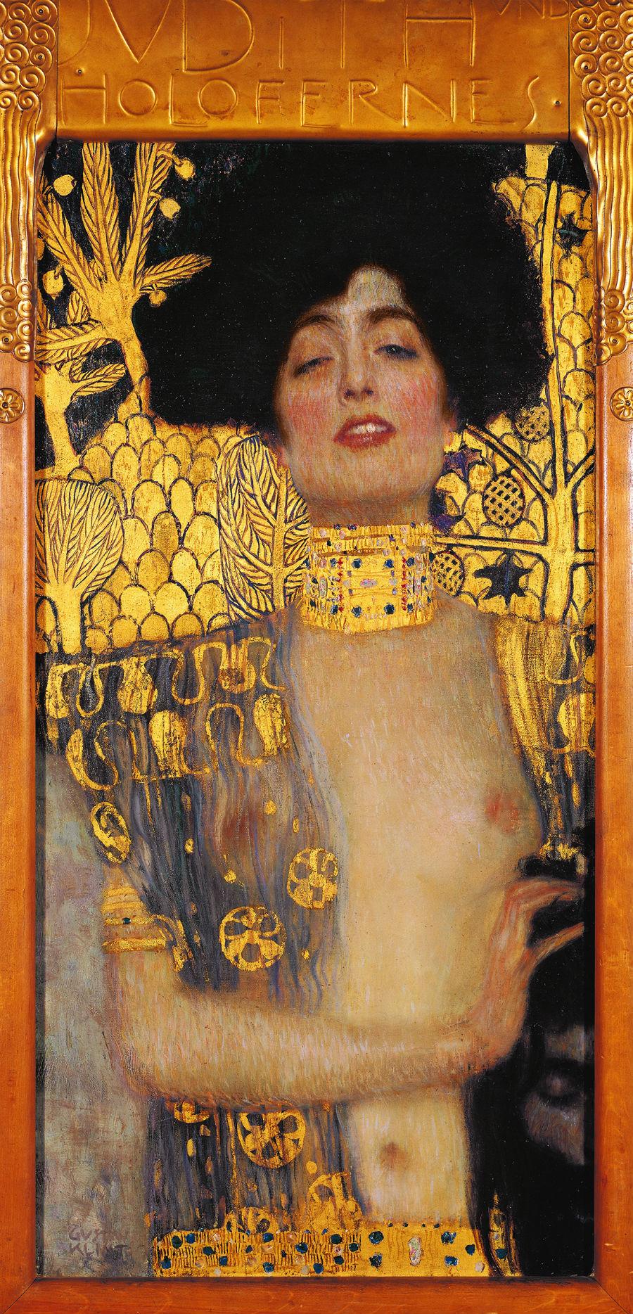 G. Klimt, Giuditta I, olio su tela, 1901, Oesterreichische Galerie im Belvedere, Vienna