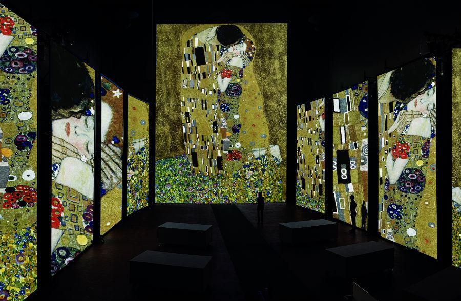 G. Klimt, Il bacio, olio su tela, 1907-1908, Oesterreichische Galerie im Belvedere, Vienna