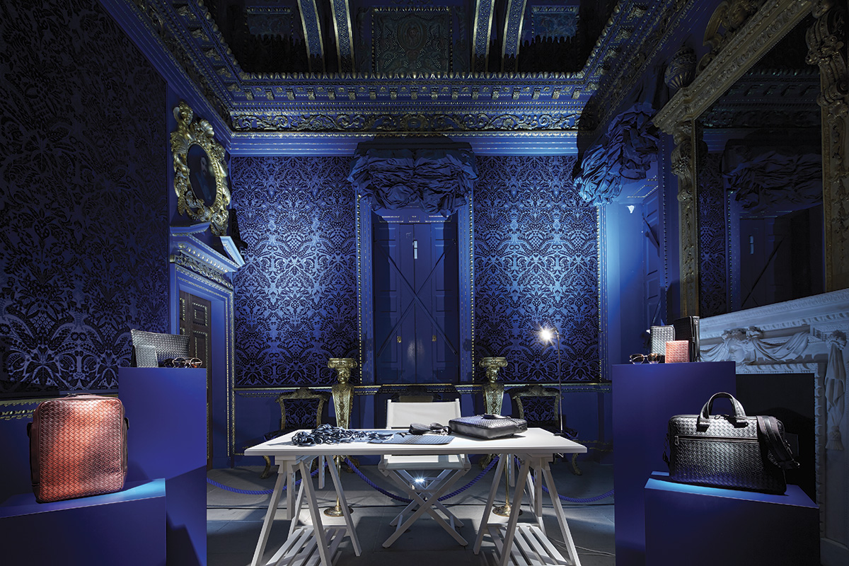 Bottega Veneta: Interno allestiti di chiswick house di west london - credits david churcill