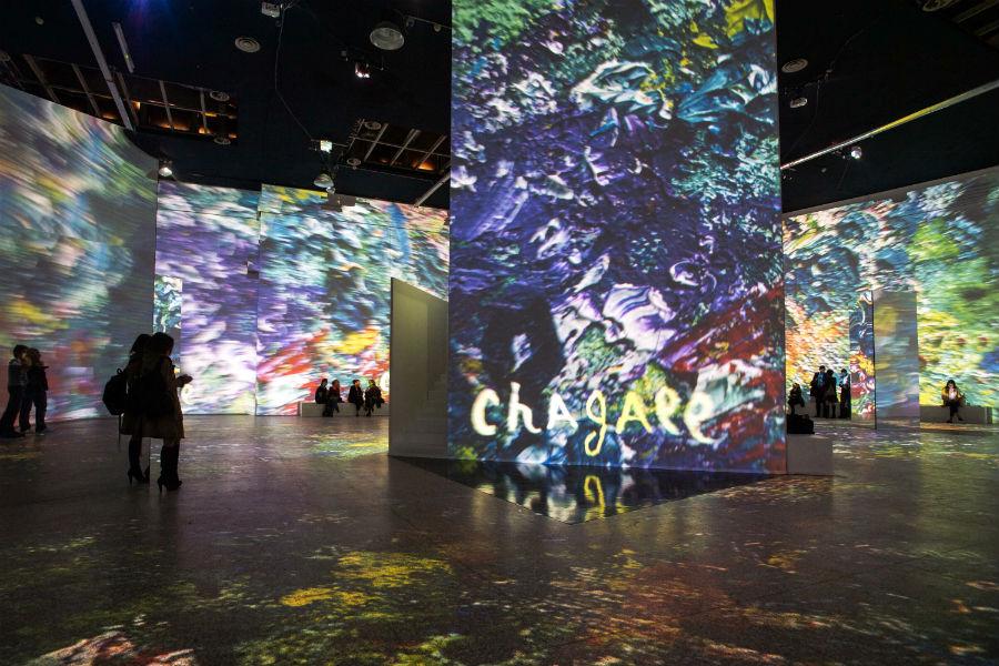 """Chagall """"Sogno di una notte d'estate"""" - Allestimento"""