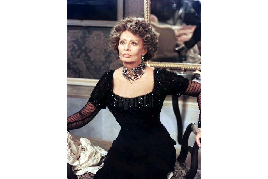Diego Percossi Papi - immagine di Sophia Loren