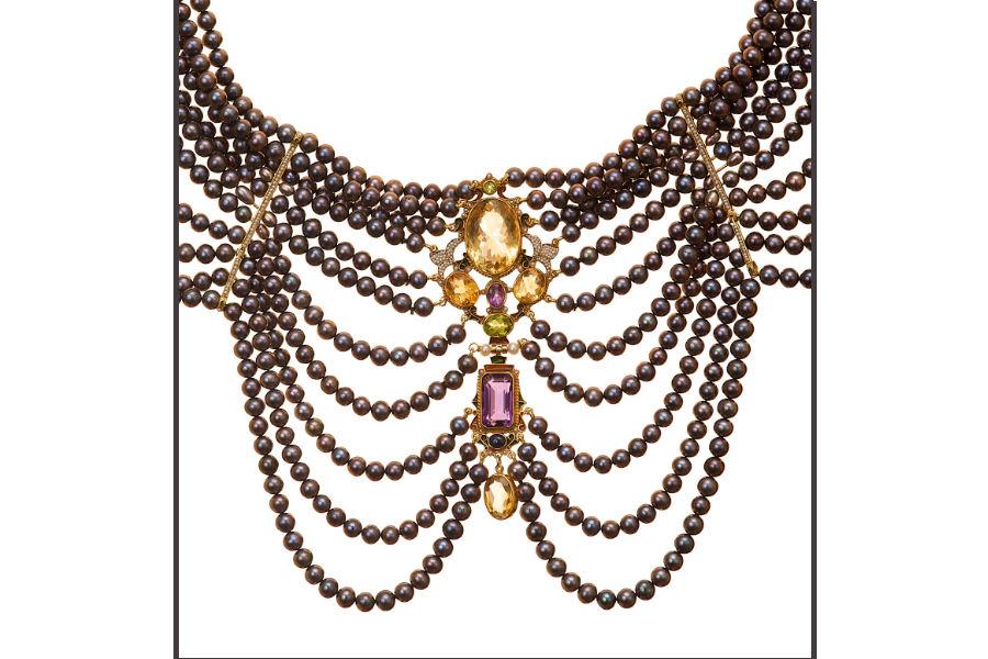 Diego Percossi Papi - collier indossato da Sophia Loren