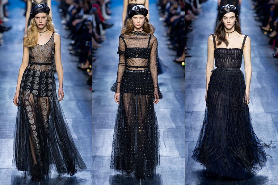 Urban sportswear: 3 modelle indossano capi della collezione Dior F/W 2017-2018