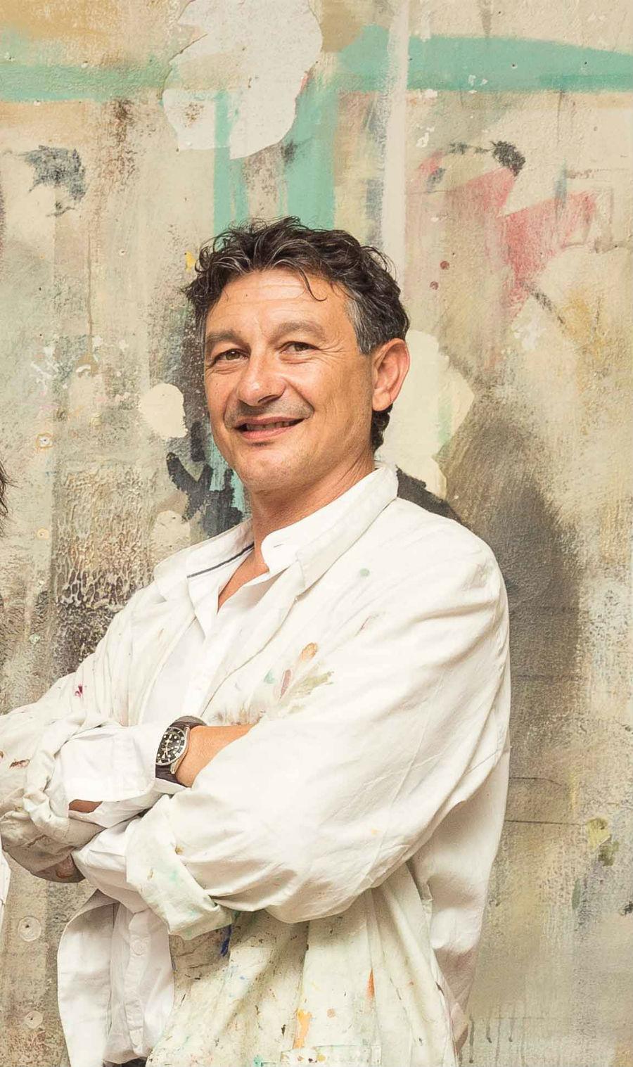 Il ritratto del Maestro Emilio Brazzolotto, che nel 2016 ha ricevuto il premio MAM-Maestro d'Arte e Mestiere. © Delfino Sisto Legnani