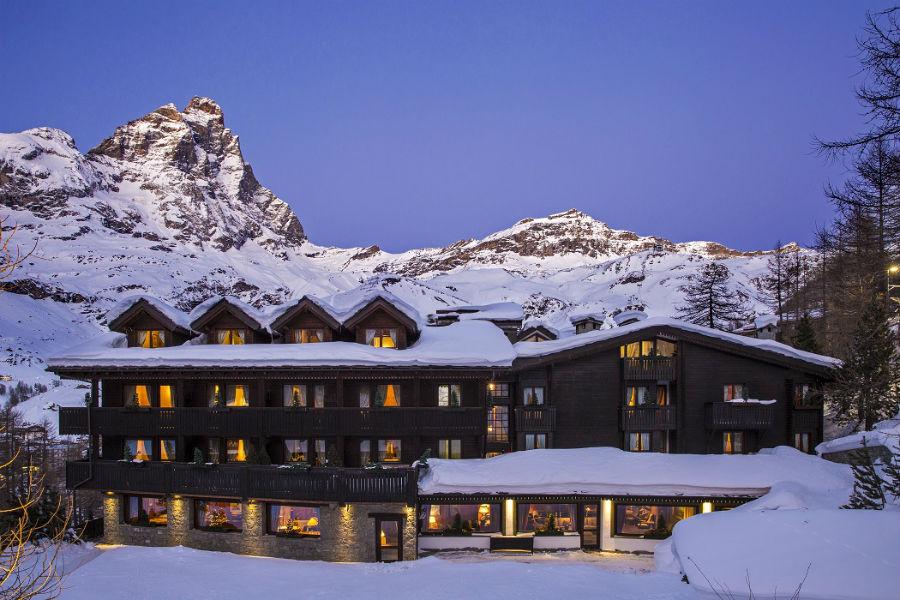 Hotel Hermitage Restaurant & Beauty - Vedute dell'hotel durante la stagione invernale
