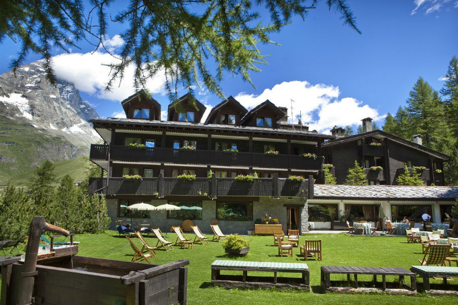 Hotel Hermitage Restaurant & Beauty - Vedute dell'hotel durante la stagione estiva