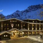 L'Hotel Hermitage Restaurant & Beauty: un guardiano sulla candida neve