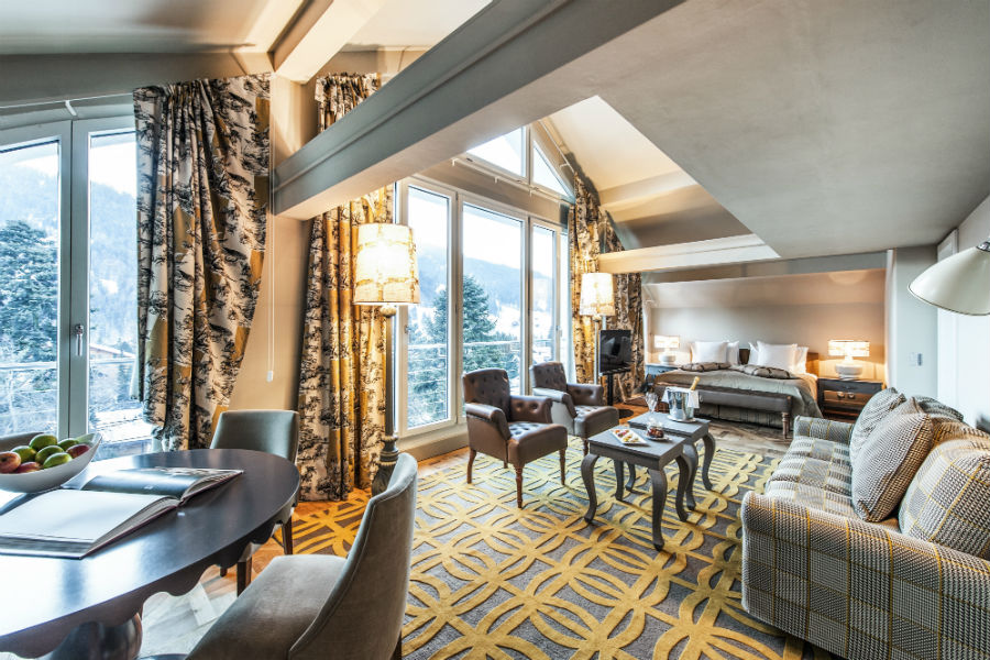 Le Grand Bellevue - Suite Panorama