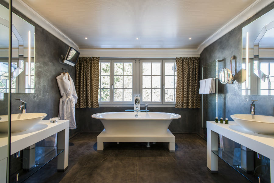 Le Grand Bellevue - Suite Sommet bathroom