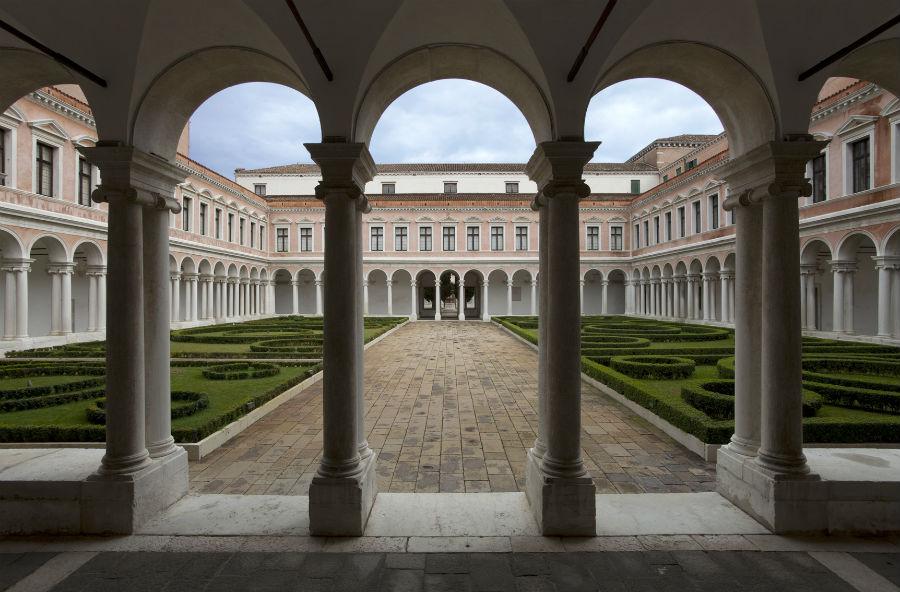 Michelangelo Foundation – Homo Faber Chiostro Palladiano, Fondazione Giorgio Cini, Venezia, Italia. © Fondazione Giorgio Cini
