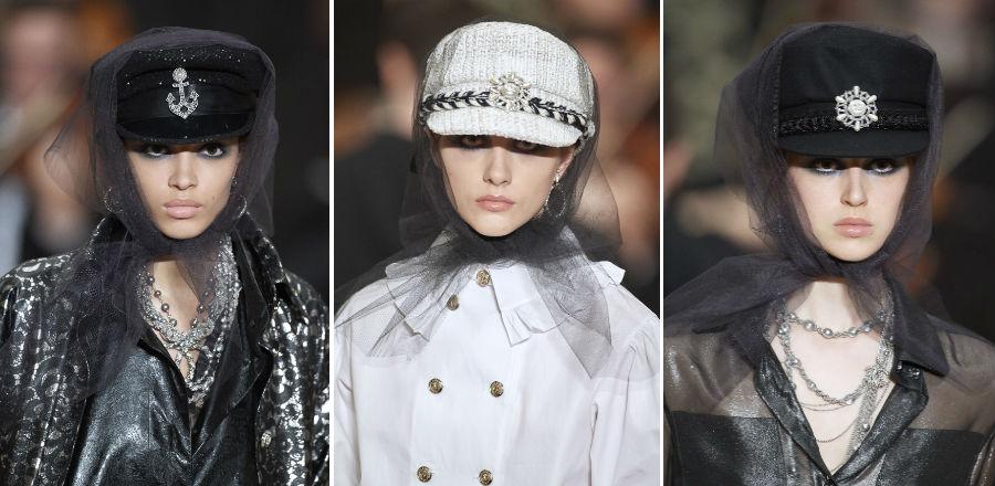 Chanel - Karl Largerfeld - 3 proposte di cappelli donna