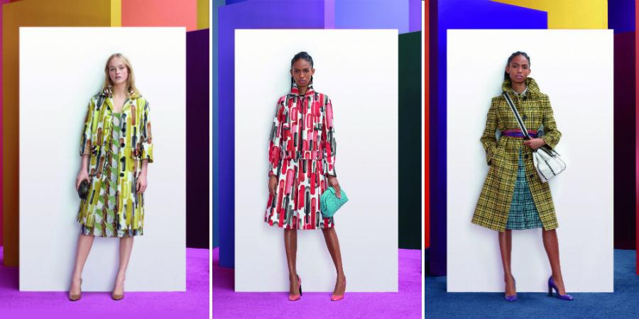 Collezioni Pre Fall 2018-2019 - 3 modelli di Bottega Veneta