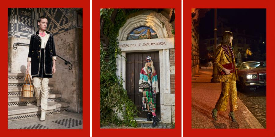 Collezioni Pre Fall 2018-2019 - 3 modelli di Gucci