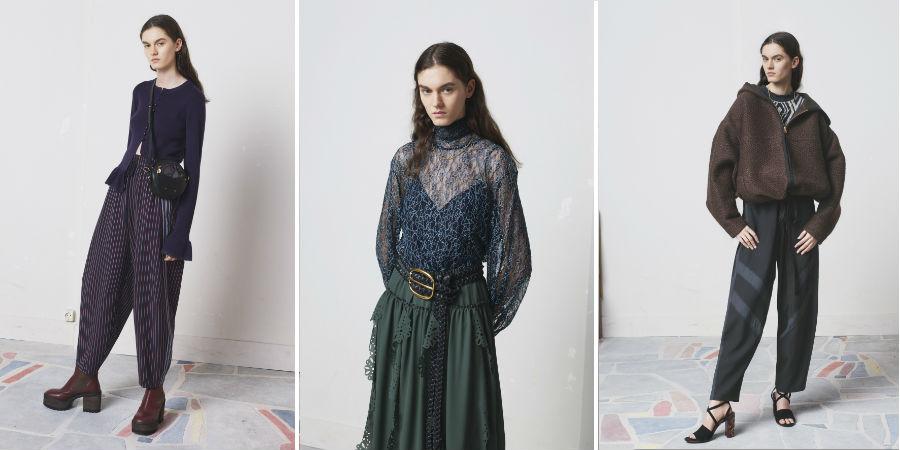 Collezioni Pre Fall 2018-2019 - 3 modelli di See By Chloè