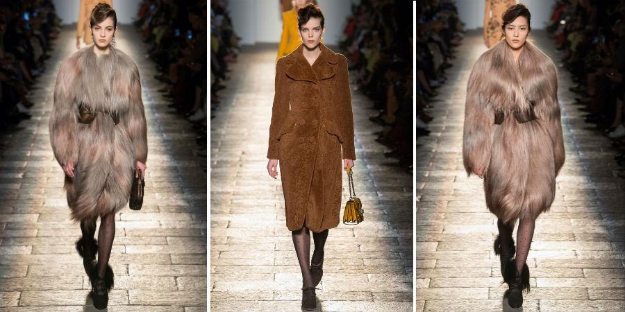 Eco pelliccia: 3 modelli di Bottega Veneta F/W 2017-2018