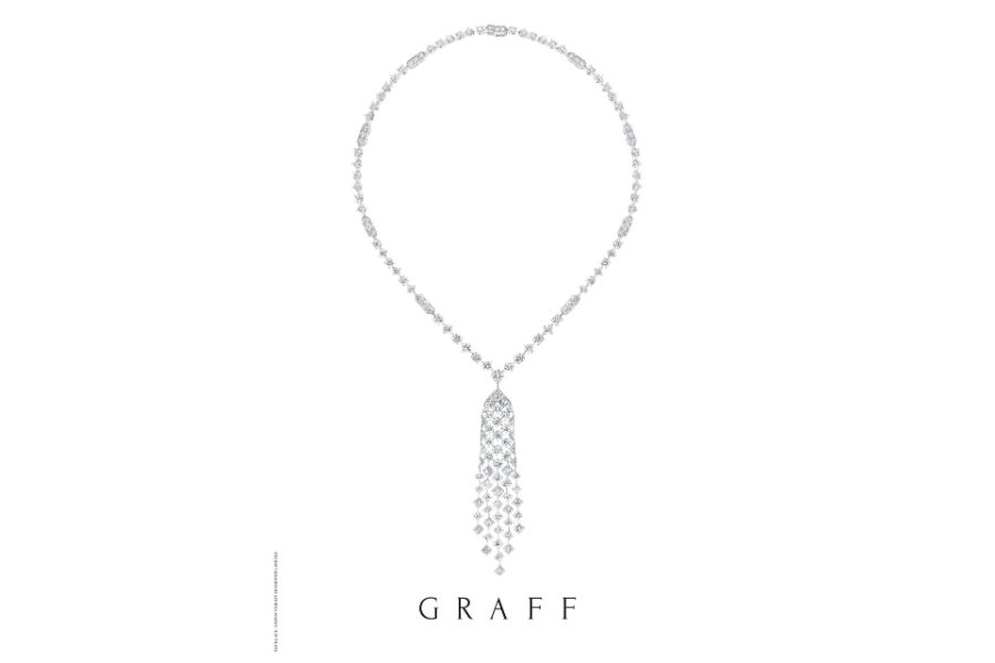 Graff – Snowfall - Collana con diamanti