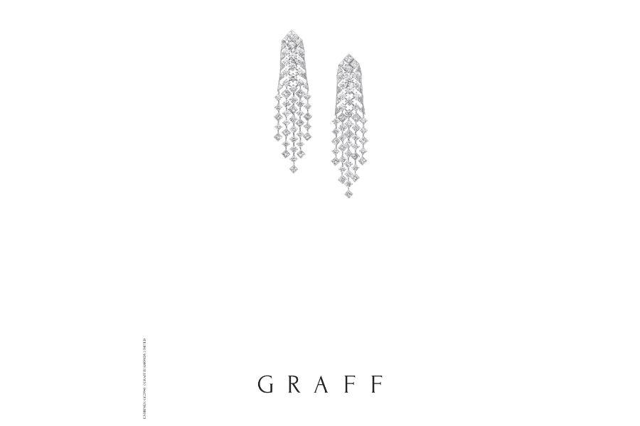 Graff – Snowfall - Orecchini con diamanti
