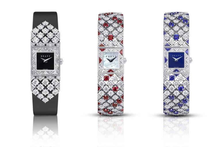 Graff – Snowfall - Orologi con diamanti e pietre preziose