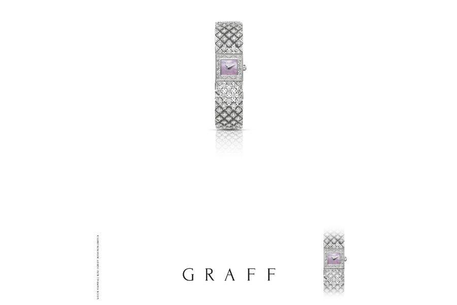 Graff – Snowfall - Orologio con diamanti (24.34 cts)